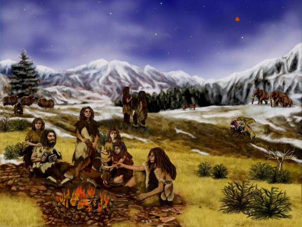 Randii Oliver - http://marsprogram.jpl.nasa.gov/gallery/artwork/neanderthals.html
