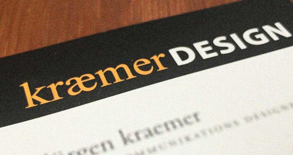 visitenkarte kraemer design